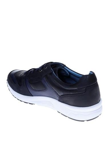 Fabrika Fabrika Erkek Lacivert Deri Günlük Ayakkabı Lacivert
